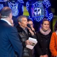 Le Téléthon 2013 en direct des berges de la Seine