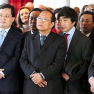 Paris : le ministre vietnamien Hoang Tuan Anh lance la fête du Têt