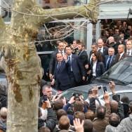 Paris : Francois Hollande quitte le Salon de l'agriculture