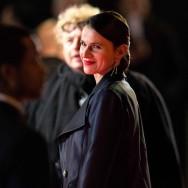César 2014 : La ministre de la Culture Aurélie Filippetti sur le tapis rouge