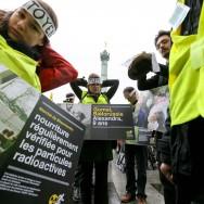 Paris : commémoration de la catastrophe de Tchernobyl