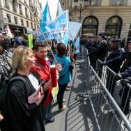 Paris : les greffiers se mobilisent pour demander une revalorisation