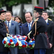 François Hollande célèbre l'anniversaire du 8 mai 1945