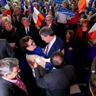 """Paris-Européennes : meeting  de """"Force Vie"""" avec Christine Boutin"""