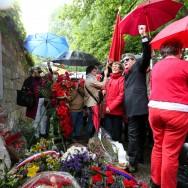 Commémoration de la Commune au mur des Fédérés