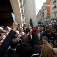 Exécution de Hervé Gourdel : rassemblement devant la Mosquée de Paris