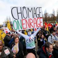 Paris : manifestation contre le chômage et la précarité