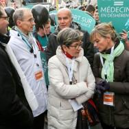 "Viviane Lambert en tête de la ""Marche pour la vie"""