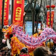 Paris fête le nouvel an chinois