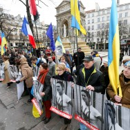 Paris : rassemblement d'Ukraïniens pour la libération de Nadiya Savchenko