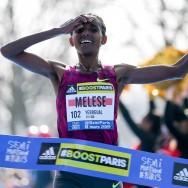 L'Ethiopienne Yebrgual Melese remporte le semi-marathon de Paris 2015