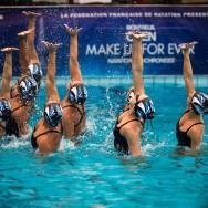 Montreuil : un nouvel Open Make Up de natation synchronisée de niveau international