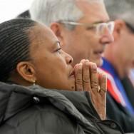 Saint-Denis : Christiane Taubira rend hommage aux victimes de l'esclavage