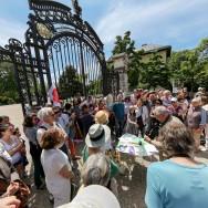 Paris : mobilisation contre l'extension de Roland Garros