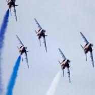 La Patrouille de France, star tricolore du Bourget