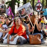 Paris : rassemblement de soutien aux Kurdes du Kurdistan