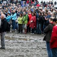 Fête de l'Humanité : un rassemblement dans la boue