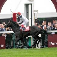 Longchamp : Golden Horn remporte le  94e Prix de l'Arc de Triomphe.