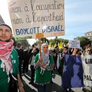 Paris : Manifestation en soutien au peuple palestinien