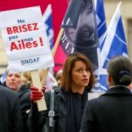 Paris : Les salariés d'Air France en colère manifestent
