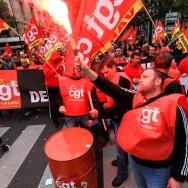 Paris : Manifestation nationale du personnel pénitentiaire