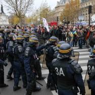 COP21 : 317 gardes à vue après des heurts place de la République
