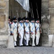Le fusil Charleville 1777 célébré dans la cour d'honneur de l'Hôtel des Invalides