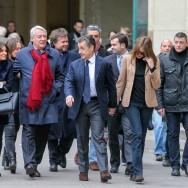 Régionales: Nicolas Sarkozy et Carla Bruni votent à Paris.