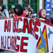 Notre-Dame-des-Landes : des opposants manifestent à Paris
