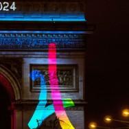 Jeux olympiques 2024 : Paris porte son logo en Triomphe