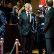 Michael Douglas reçoit son deuxième César d'honneur avec humour et en français