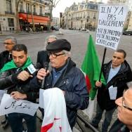 Paris : rassemblement contre la révision de la Constitution algérienne
