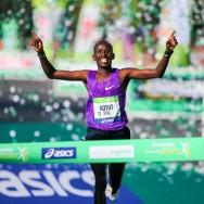 Le Kényan Cyprian Kotut remporte la 40e édition du marathon de Paris