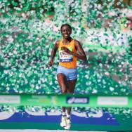 Marathon de Paris : victoire de la Kényane Jepkesho