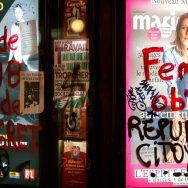 Paris : dégradations en marge de la Nuit Debout.