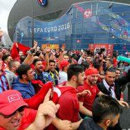 Euro 2016 : le Parc des Princes sous haute surveillance.