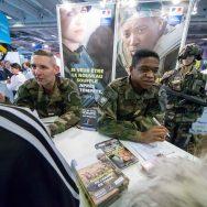 Les armées au salon européen de l'éducation