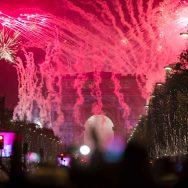 Paris fête la nouvelle année 2017