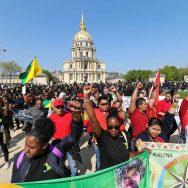 Paris : mobilisation en soutien aux Guyanais