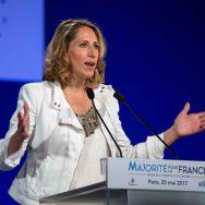 Législatives : la navigatrice Maud Fontenoy anime le meeting des Républicains