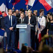 Présidentielle : le front commun de Marine Le Pen et Nicolas Dupont-Aignan à Villepinte.