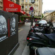 Paris : le street-artiste C215 avec RSF pour défendre les journalistes emprisonnés en Turquie