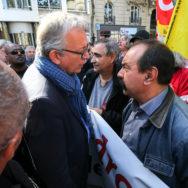Paris : mobilisation sociale en baisse
