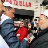 13 novembre : rassemblement devant le Bataclan.