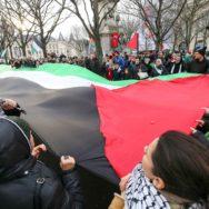 Paris : rassemblement contre Jérusalem capitale d'Israël.