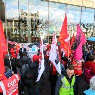 Saint-Mandé : les salariés de Météo France se mobilisent.