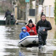 Essonne : début des inondations en Ile-de-France.