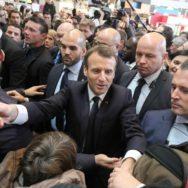 Premier Salon de l'agriculture mouvementé pour Emmanuel Macron