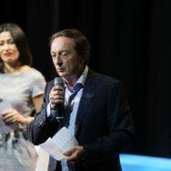 Michel-Edouard Leclerc, parrain de la Ligue contre le cancer.