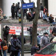 SNCF, Parcoursup, santé, postiers : plusieurs centaines de manifestants à Paris.